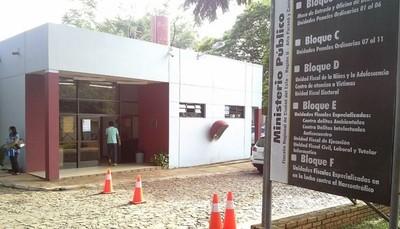 Ciudad del Este: Fiscala presentó acusación contra dos personas por supuesta extorsión