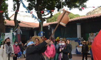 """Celebraron """"San Juan Ára Rire"""" en el Buen Pastor"""