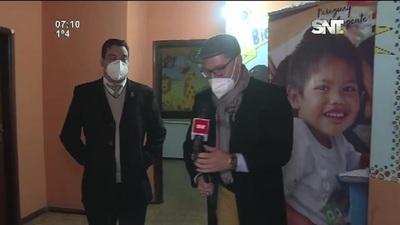Habilitan refugio del Ministerio de la Niñez y Adolescencia en San Lorenzo