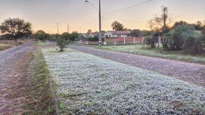 Segundo día de heladas en Misiones