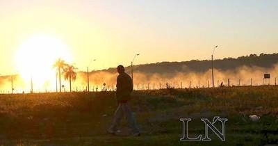 La Nación / Temperatura de aire ambiente más baja: confirman que ayer se registró