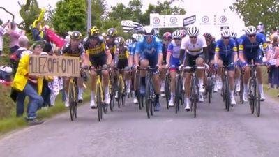 Responsable del accidente en Tour de Francia fue arrestada