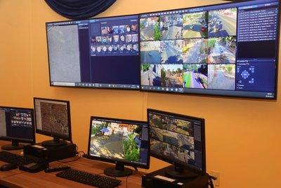 Habilitan tercer centro de monitoreo policial y cámaras para el 911 en Ñemby