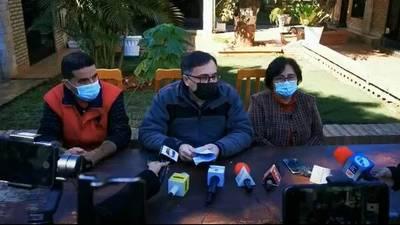 Familia de Jorge Ríos ruega a los secuestradores por un canal de comunicación