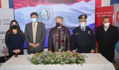 Se habilitó el tercer centro de monitoreo policial y cámaras para el 911 en Ñemby