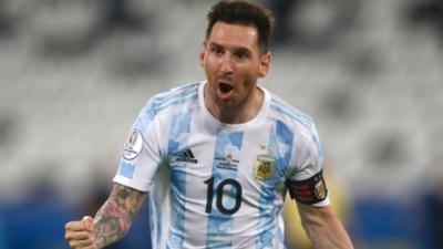 Messi es el máximo artillero de la actual Copa América