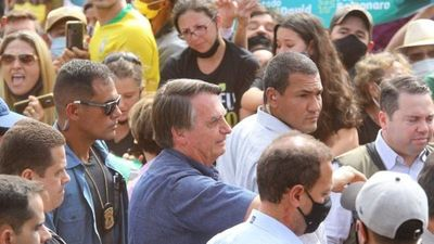 Bolsonaro llega a Ponta Porã para inaugurar una estación de radar en la frontera