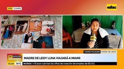 Derrumbe en Miami: Mamá de Leidy Luna viajará a Estados Unidos
