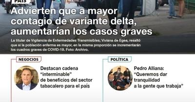 La Nación / LN PM: Las noticias más relevantes de la siesta del 30 de junio