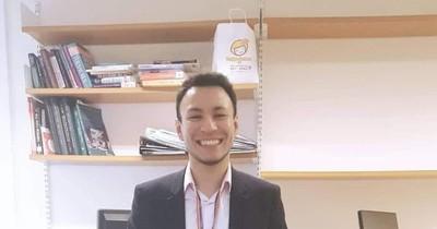 La Nación / Paraguayo sobresaliente: se graduó en el exterior, busca colaborar en proyectos de inclusión en Paraguay