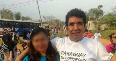 La Nación / Invasor de propiedades privadas lidera protesta contra titular del MUVH
