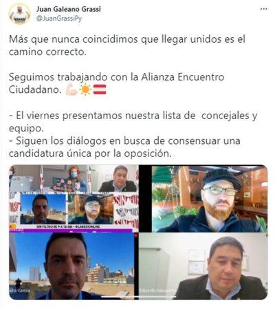 """El PEN sigue buscando la alianza opositora """"Encuentro Ciudadano"""""""