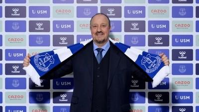 Rafa Benítez es nuevo entrenador del Everton