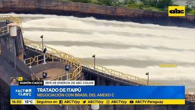 Tratados de Itaipú, negociación con Brasil del anexo C