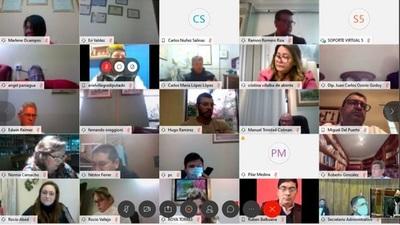 Extienden vigencia de las sesiones plenarias virtuales a raíz de la pandemia