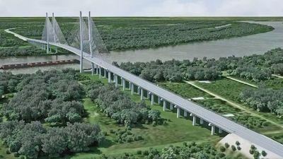 Protestan contra el  pliego del puente de Carmelo Peralta