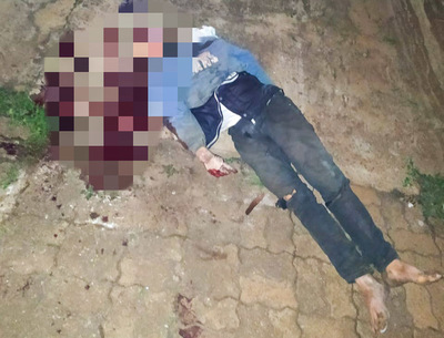 Adolescente murió electrocutado al intentar robar cables de una columna