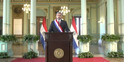 Cuando pase la pandemia Paraguay estará de pie, con una economía más fortalecida, dijo el Presidente