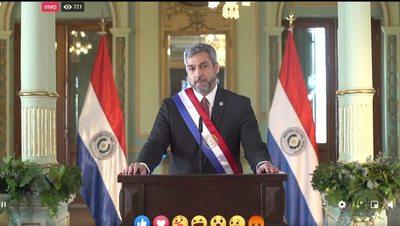 Presidente infló discurso destacando beneficios sociales y créditos otorgados