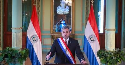 """La Nación / """"Este gobierno hizo todo lo que estaba a su alcance"""", dice Mario Abdo"""