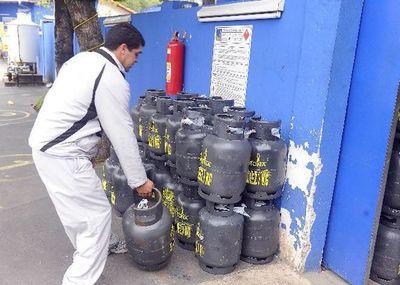 Precio del gas aumentaría entre G. 400 a G. 600 por kilo