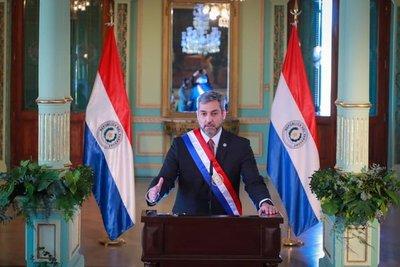 Mario Abdo Benítez presentó informe de gestión al Congreso Nacional
