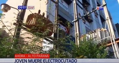 Joven muere electrocutado al intentar robar un transformador