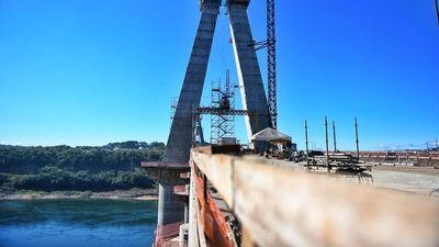 Puente de la Integración: Culmina construcción de losa de transición