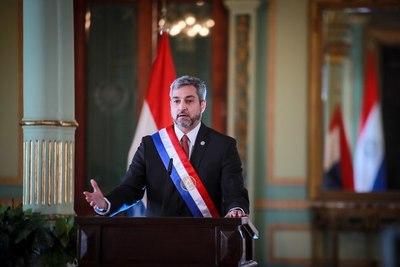 Abdo Benítez afirma que Paraguay está en el camino de la recuperación económica
