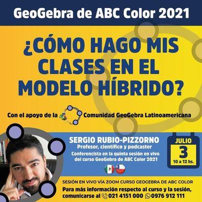 Capacitación en GeoGebra 2021 de ABC Color