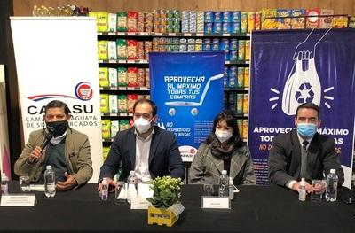 Supermercados cobran G. 200 por bolsas reutilizables desde hoy e inician promoción de uso eficiente