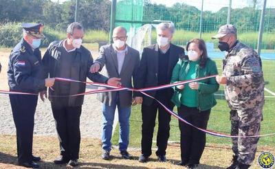 Grupo Lince tiene nuevo espacio de entrenamiento en Luque •