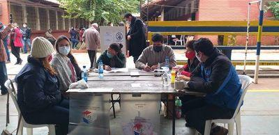 Colorados denuncian ante la fiscalía presunto fraude electoral  en Luque