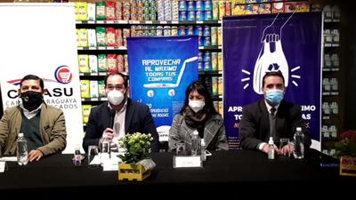 Capasu y autoridades promueven el uso inteligente de bolsas de plástico