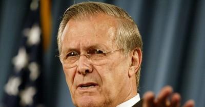 La Nación / Muere Donald Rumsfeld, exjefe del Pentágono de George W. Bush