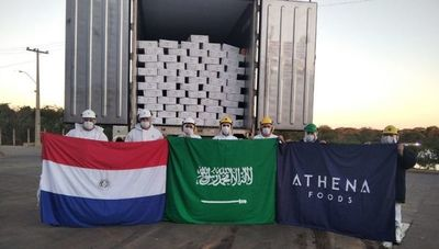Primer cargamento de carne enfriada paraguaya partió a Arabia Saudita