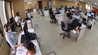 Sistema 154 registra casi  50% de disminución de llamadas para test