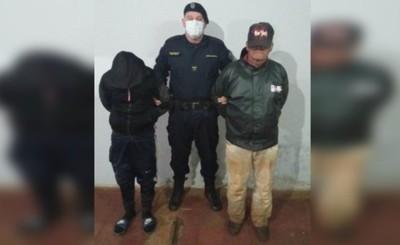 Detienen a dos presuntos abigeos en Minga Guazú
