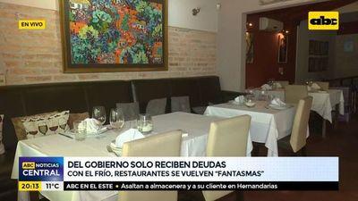 Ayuda gubernamental nunca llegó, lamenta gremio de restaurantes