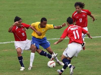 Brasil domina ampliamente el historial ante Chile