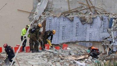 Derrumbe de edificio en Miami: Asciende a 20 la cifra de muertes confirmadas