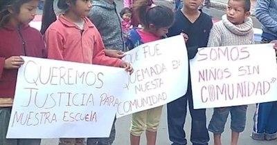 La Nación / Organizan colecta benéfica para niños de la escuela 12 de Agosto de la comunidad indígena Ka'a Poty