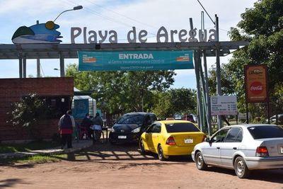 Areguá: Vacunación para vulnerables será en la playa municipal y en la Gobernación de Central