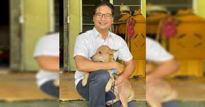 La perrita que salvó a su familia humana de un incendio en Malasia