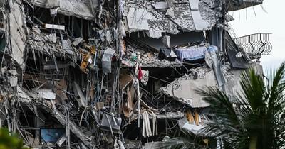 La Nación / Suman 22 muertos tras derrumbe en Florida, amenazada por tormenta tropical