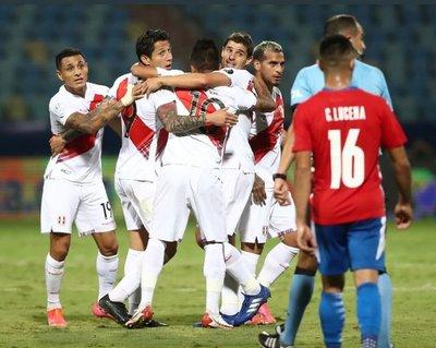 Paraguay pierde en penales y se despide de la Copa América