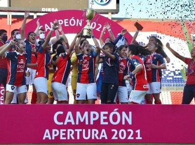 Fútbol Femenino: Cerro Porteño, indiscutible campeón