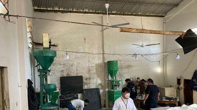 Allanan depósito clandestino de reembolso de azúcar en San Lorenzo