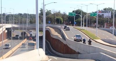 La Nación / Habilitan todas las vías del Multiviaducto de CDE tras muchos reclamos ciudadanos