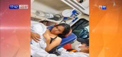 ¡Admirable! Bebé fue recibido por bomberos voluntarios